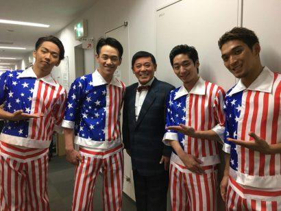 今月の、三山ひろしさんの公演から(^-^)